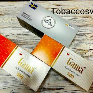 Гильзы для сигарет Набор GAMA 2 Упаковки +High Star