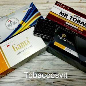 Гильзы для сигарет Набор High Star+ MR TOBACCO+GAMA+HOCUS+Портсигар