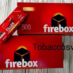 Сигаретные гильзы 500+500шт. FireBox + Машинка для набивки табака