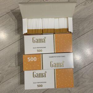 Сигаретные гильзы GAMA 2000 гильз. Супер цена